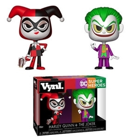 Harley Quinn + The Joker | Vinyl Art Toys