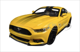 2016 Ford Mustang GT 5.0 Yellow Limited Edition  | Model Cars