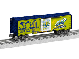 Hot Wheels 50th Anniversary Boxcar | Model Trains (Rolling Stock)