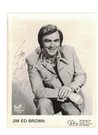 Jim Ed Brown {I don't want to have to marry you] AUTOGRAPH | Posters & Prints