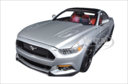 2017 Ford Mustang GT 5.0 Ingot silver and Optional Black Roof Limited Edition  | Model Cars