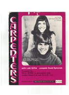 The Carpenters Autographed Royal Albert Hall 1971 Program | Posters & Prints