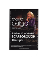 Elaine Paige signed  Concert Flyer | Posters & Prints