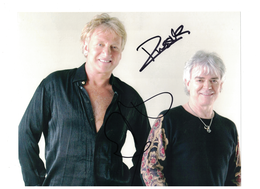 Air Supply {Graham Russell-Russell Hitchcock} Autographs with C.O.A. | Posters & Prints