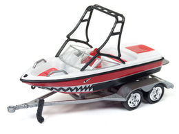Mastercraft Boat on Trailer | Model Trailers & Caravans
