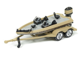 Bass Boat on Trailer | Model Trailers & Caravans