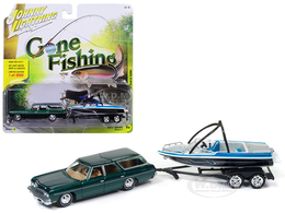 1973 Chevrolet Caprice with Malibu Boat | Model Vehicle Sets