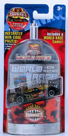 Power Pistons | Model Cars | HW 2003 - Highway 35 World Race - Roadbeasts 21/35 - Power Pistons - Black - Co-Molded - with a Comic