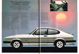 The Special Edition Capri Laser | Print Ads