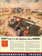 DON'T Tell It To The Marines – They KNOW! | Print Ads