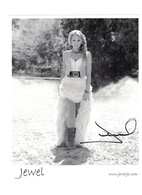 """Jewel""  Autographed Photo 