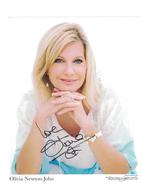 Olivia Newton John {Magic} Signed Autograph | Posters & Prints
