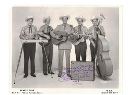 Ernest Tubb {Walking the Floor Over You} 1957 Signed Autograph | Posters & Prints