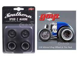 Drag Wheels from 1934 Altered Drag Coupe   Model Spare Parts