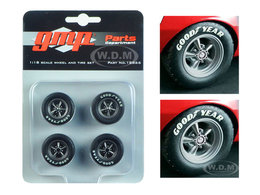 Trans Am Wheels and Tires Set for 1967 Chevrolet Camaro Z/28   Model Spare Parts