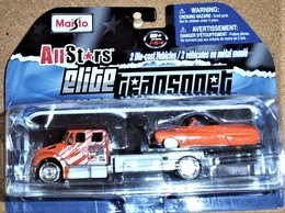International Dursstar Flatbed / 49 Mercury Eight convertible | Model Vehicle Sets