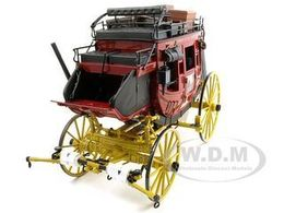 Wells Fargo Overland Stagecoach | Model Animal Drawn Vehicles