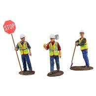 Construction Figures 3pc Set #1   Figure & Toy Soldier Sets