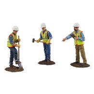 Construction Figures 3pc Set #2   Figure & Toy Soldier Sets