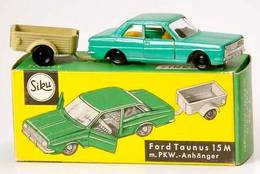 Ford Taunus 15M and Trailer   Model Vehicle Sets   German package