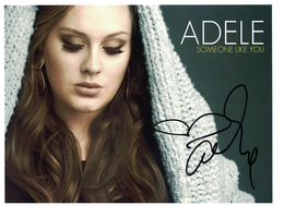 Adele Signed Autograph with C.O.A. | Posters & Prints