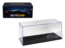 Acrylicase Show Case with Black Base | Display Cases