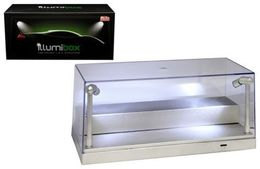 Collectible Display Show Case with LED Lights for 1/24 Models with Riser Option for 1/64 Models | Display Cases