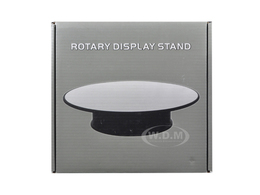 "8"" Mirror Top Rotary Display Stand for 1/24 1/43 and 1/64 Models 
