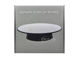 "10"" Mirror Top Rotary Display Stand for 1/18 1/24 1/43 and 1/64 Models 