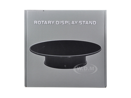 "10"" Felt Top Rotary Display Stand for 1/18 1/24 1/43 and 1/64 Models 