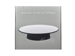 "12"" Mirror Top Rotary Display Stand for 1/18 1/24 1/43 and 1/64 Models 