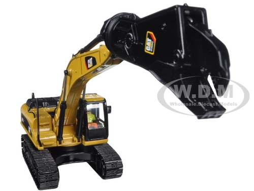 CAT 330D L Hydraulic Excavator with Shear | Model Construction