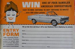 Win One Of Four Rambler American Convertibles | Print Ads