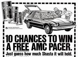 10 Chances To Win A Free AMC Pacer. | Print Ads