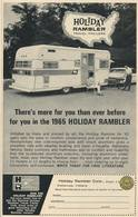 There's More For You Than Ever Before For You In The 1965 Holiday Rambler | Print Ads