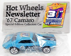 Hot Wheels Newsletter 31st Convention '67 Camaro | Model Cars