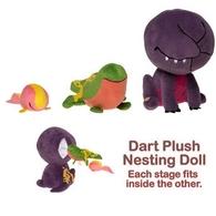 Dart Plush Nesting Doll | Plush Toys