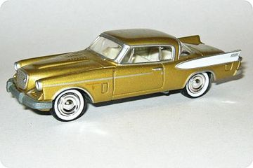 Studebaker Golden Hawk | Model Cars
