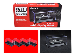 4-Pack 1/64 Scale Display Case | Display Cases
