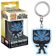 Black Panther (Black Panther Movie) (Glow in the Dark) | Keychains