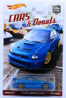 Subaru Impreza WRX | Model Cars | HW 2017 - Car Culture / CARS & Donuts 5/5 - Subaru Impreza WRX - Blue - Metal/Metal & Real Riders