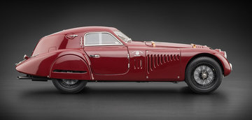 1938 Alfa Romeo 8C 2900 B Speciale Touring Coupe | Model Cars