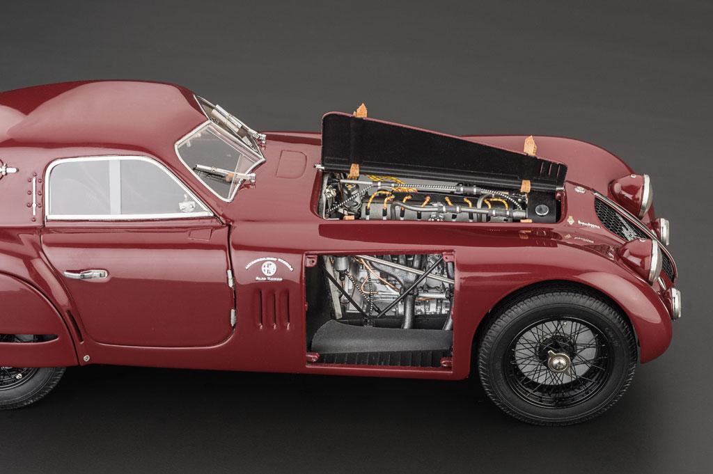 Alfa Romeo C B Speciale Touring Coupe Model Cars HobbyDB - Alfa romeo model cars