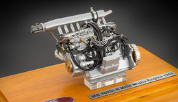 Mercedes-Benz 300 SLR Engine | Model Internal Combustion Engines