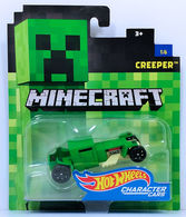 Creeper | Model Cars | HW 2017 - Minecraft Character Cars 1/6 - Creeper - Green