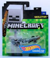Skeleton | Model Cars | HW 2017 - Minecraft Character Cars 3/6 - Skeleton - Gray