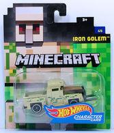 Iron Golem | Model Trucks | HW 2017 - Minecraft Character Cars 4/6 - Iron Golem - Beige