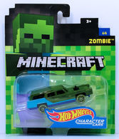 Zombie | Model Cars | HW 2017 - Minecraft Character Cars 6/6 - Zombie - Green & Blue