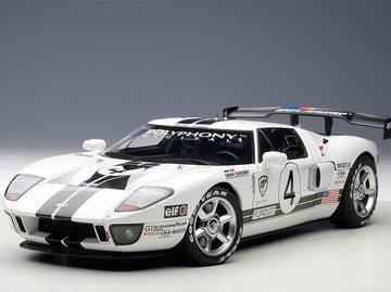 Ford Gt Lm Spec Ii Race Car Model Cars