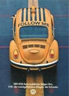 280 400 Automobilisten Folgen Ihm. VW-Der Meistgefahrene Wagen Der Schweiz. | Print Ads